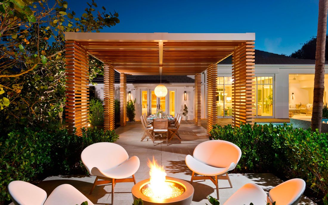 Beautiful and timeless outdoor living