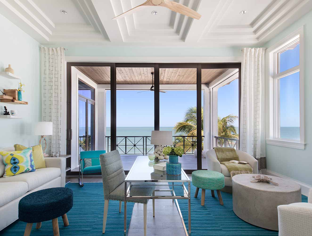 Ceiling Design Collection in Naples Florida homes. Designed by Kukk Architecture & Design Naples.