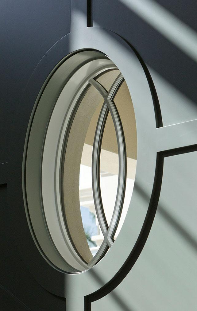 Detailed Window Design Portfolio in a Naples Florida, single family home. Designed by Kukk Architecture & Design Naples.