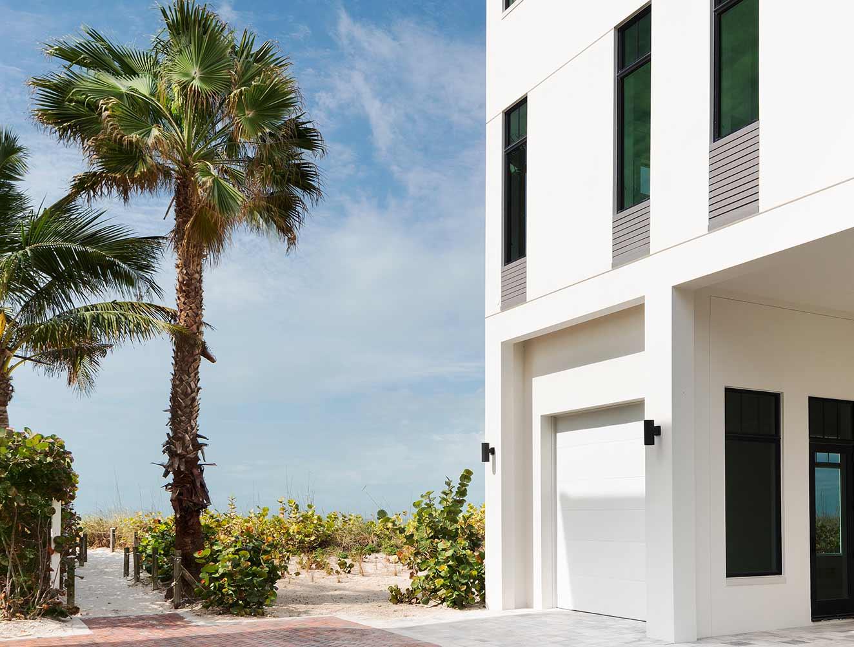 Modern Architectural Details Portfolio of a Naples Florida, single family home. Designed by Kukk Architecture & Design Naples.