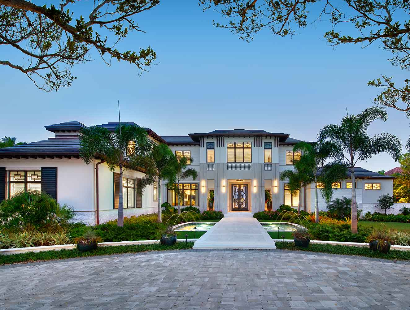 Galleon Estate in Naples Florida, single family home designed by Kukk Architecture & Design Naples Architecture Firm