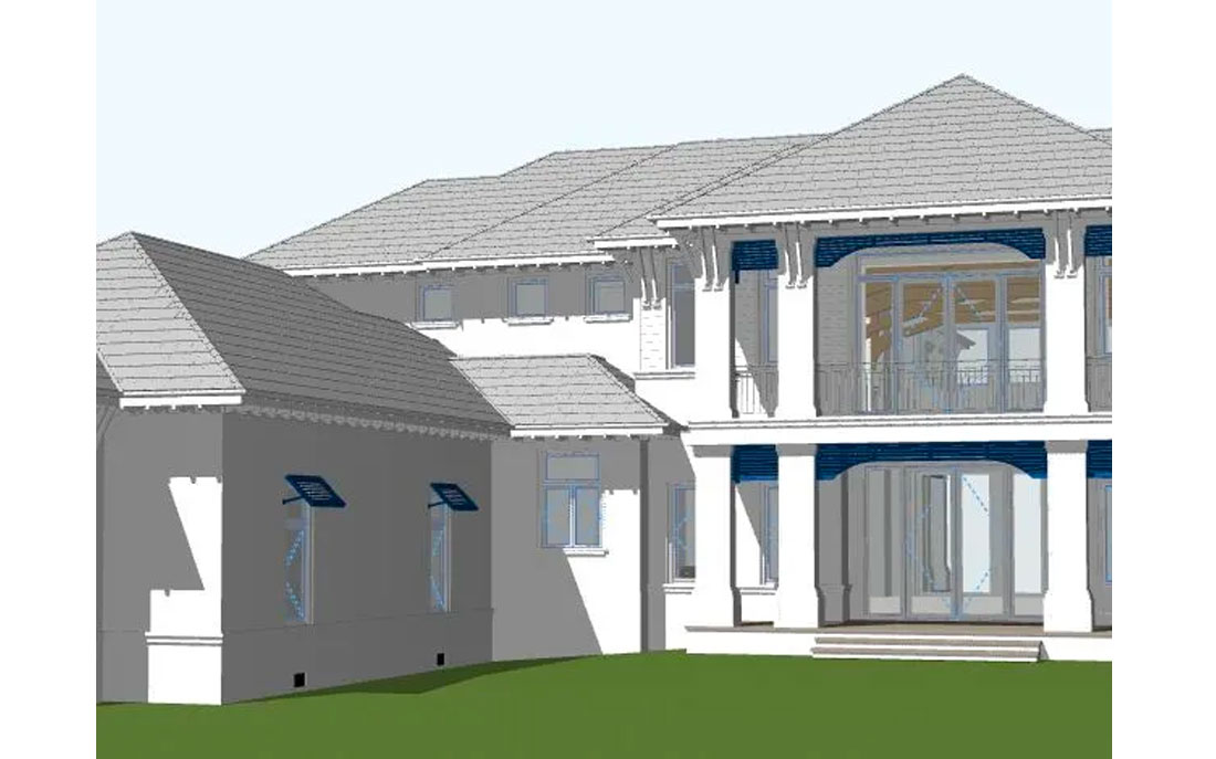 Harwick Homes and Kukk Architecture and Design, P.A. custom designed home in Marco Island | Blog: Harwick Homes expands to Marco Island with custom home designed by Jonathan Kukk