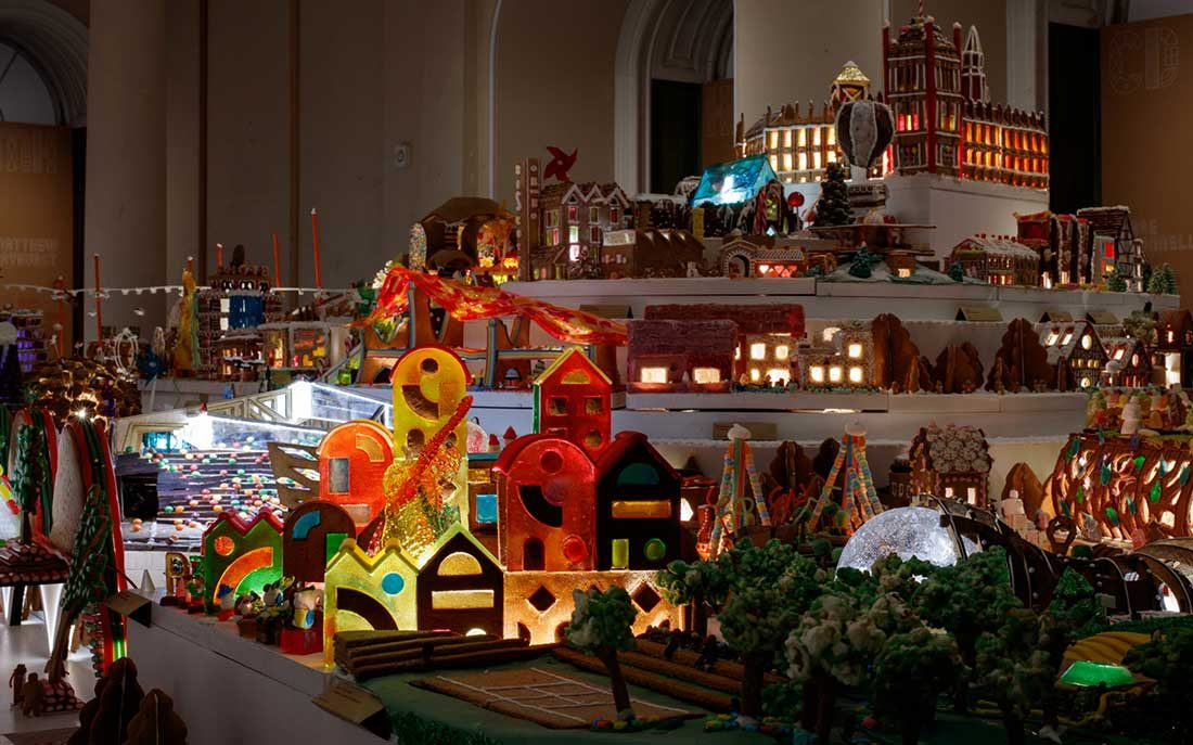 How Architects Build a Gingerbread City Article from Houzz.com Kukk Architecture & Design, P.A.