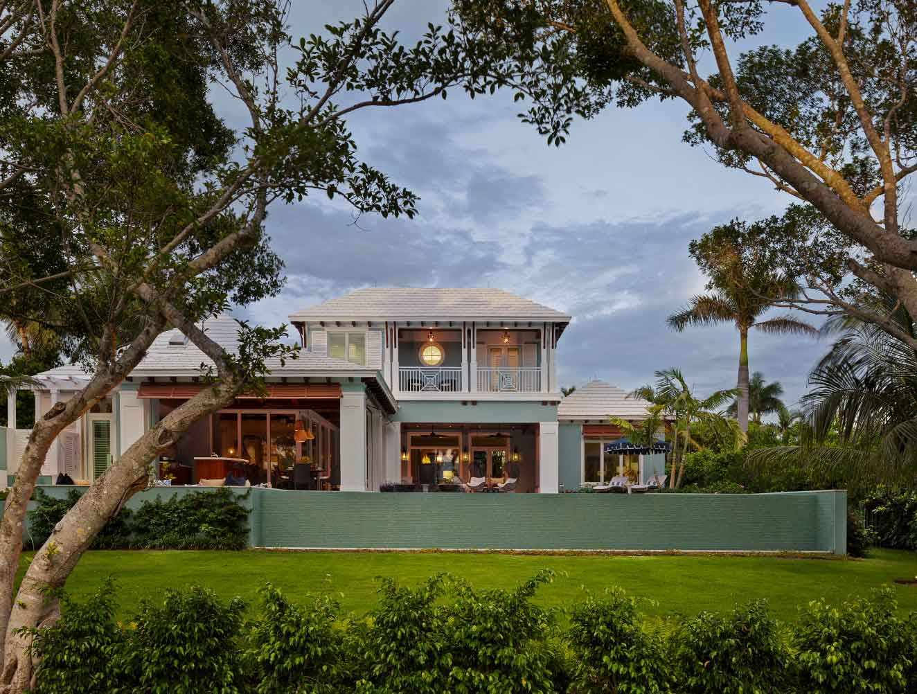Exterior Architecture at West Indies Residence in Naples Florida, single family home designed by Kukk Architecture & Design Naples Architecture Firm