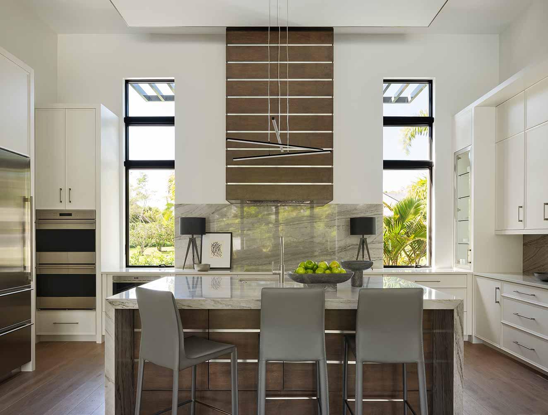 Modern Kitchen Design. Kitchen Galleries Architectural Design Portfolio. Designed by Kukk Architecture & Design Naples.