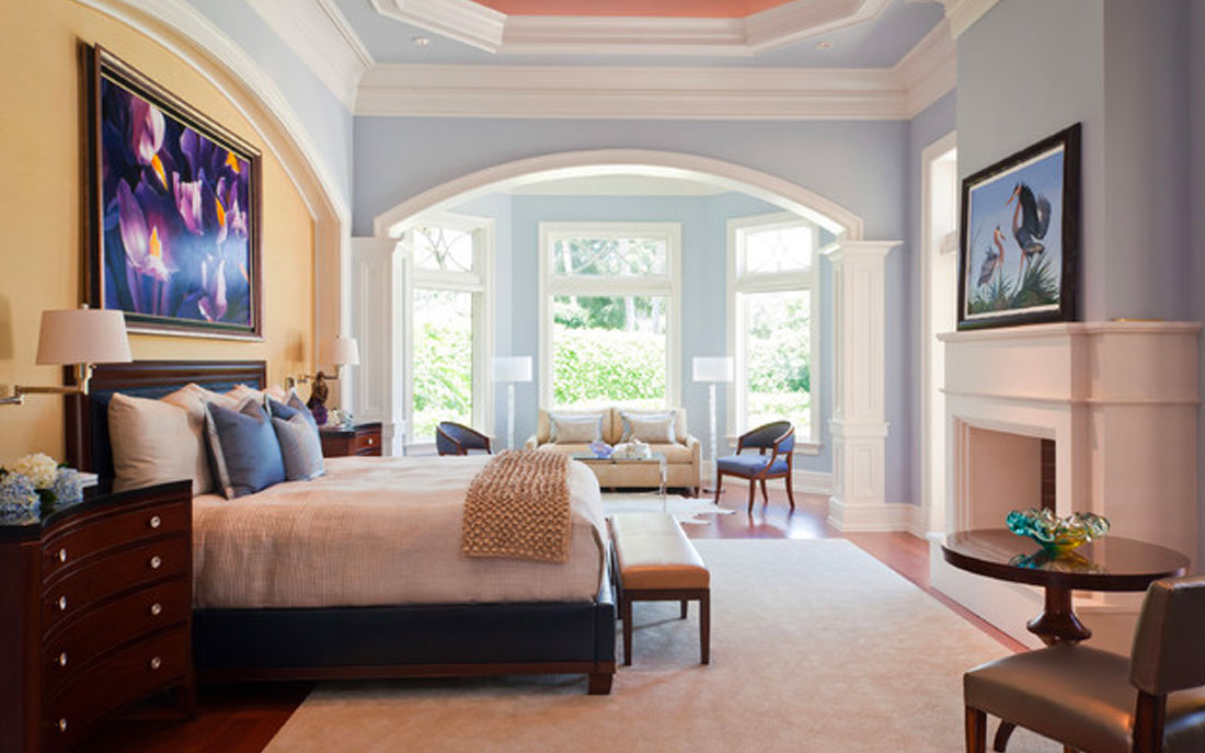 Naples Florida bedroom designed by Kukk Architecture and Design | Blog: Kukk Architecture featured in National Association of Home Builders Article