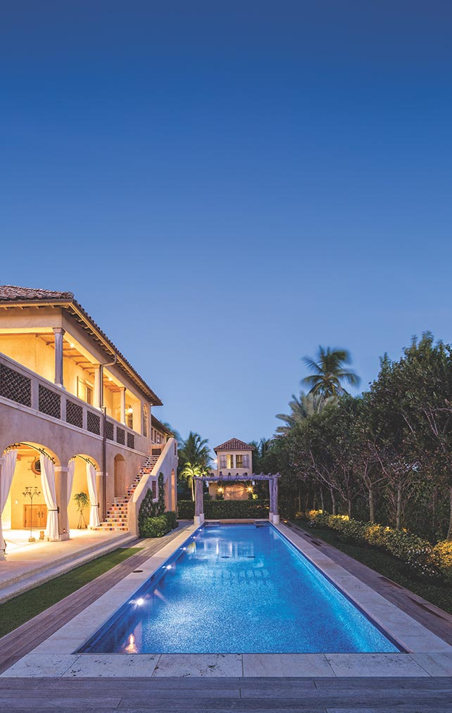 Portfolio of Pools in Naples, Florida Luxury Homes. Large Naples Swimming Pool. Designed by Kukk Architecture & Design Naples.