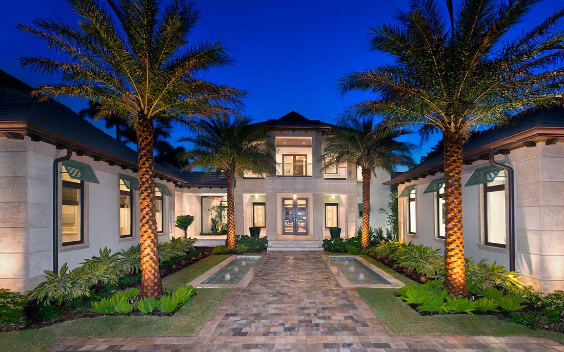 Naples Florida home in Port Royal on Rum Row designed by Kukk Architecture & Design, P.A. | Blog: Kukk Architecture & Design Wins a Sand Dollar Award