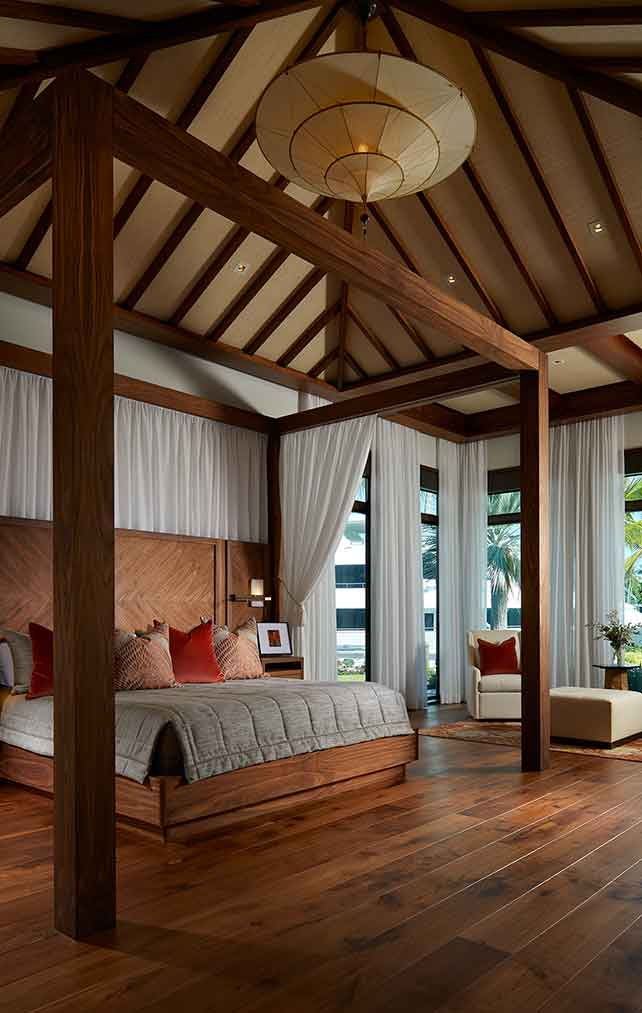 Master Bed Room of Tranquility Estate in Naples Florida, single family home designed by Kukk Architecture & Design Naples Architecture Firm