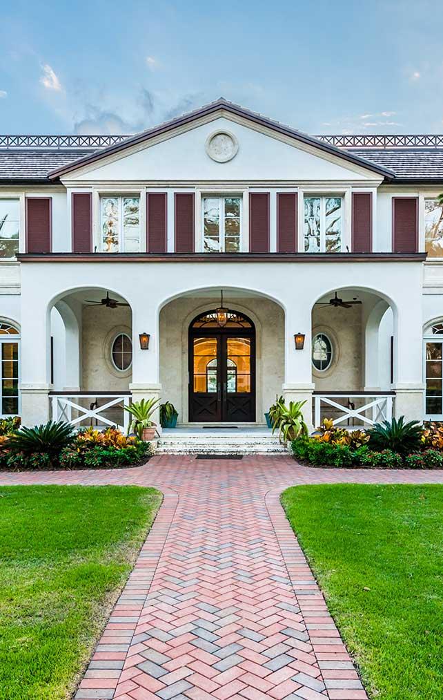 Cutlass Estate in Naples Florida, single family home designed by Kukk Architecture & Design Naples Architecture Firm