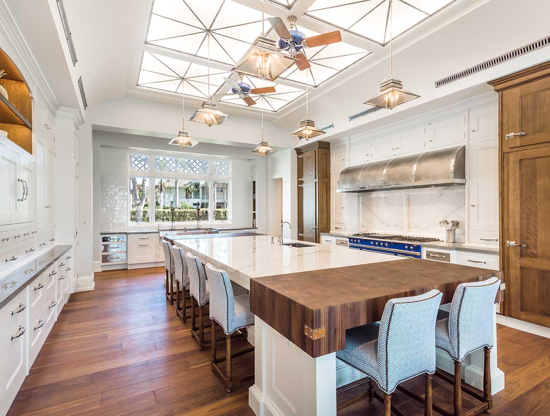 Luxury Kitchen of Cutlass Estate in Naples Florida, single family home designed by Kukk Architecture & Design Naples Architecture Firm