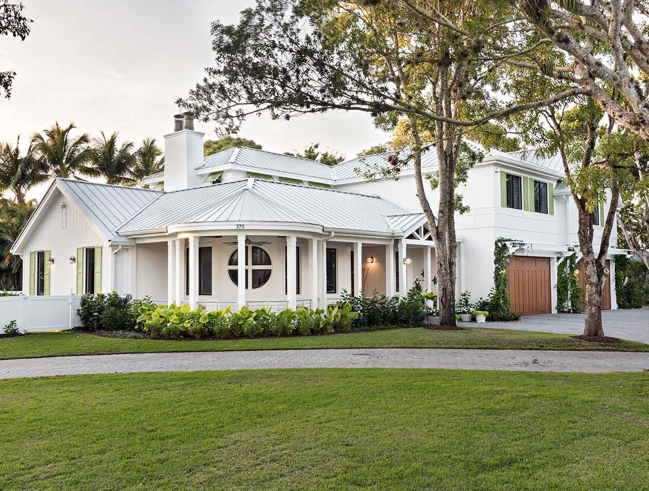 Exterior Architectural details at Yucca Residence in Naples Florida, single family home designed by Kukk Architecture & Design Naples Architecture Firm